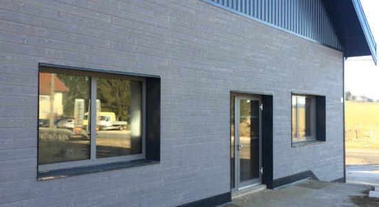 Rénovation extérieure bureau 1